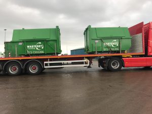 Nieuwe 10m3 containers