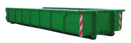 12m3 bouwcontainer inzameling