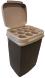 Kartonnen koffiebekers afvalbak, container afvoeren
