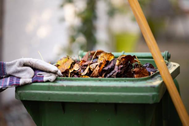 afval per seizoen